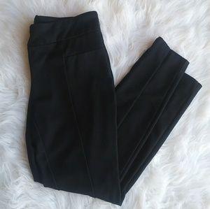 2/$30 Dark Navy/black Soft Suit Pants Lg